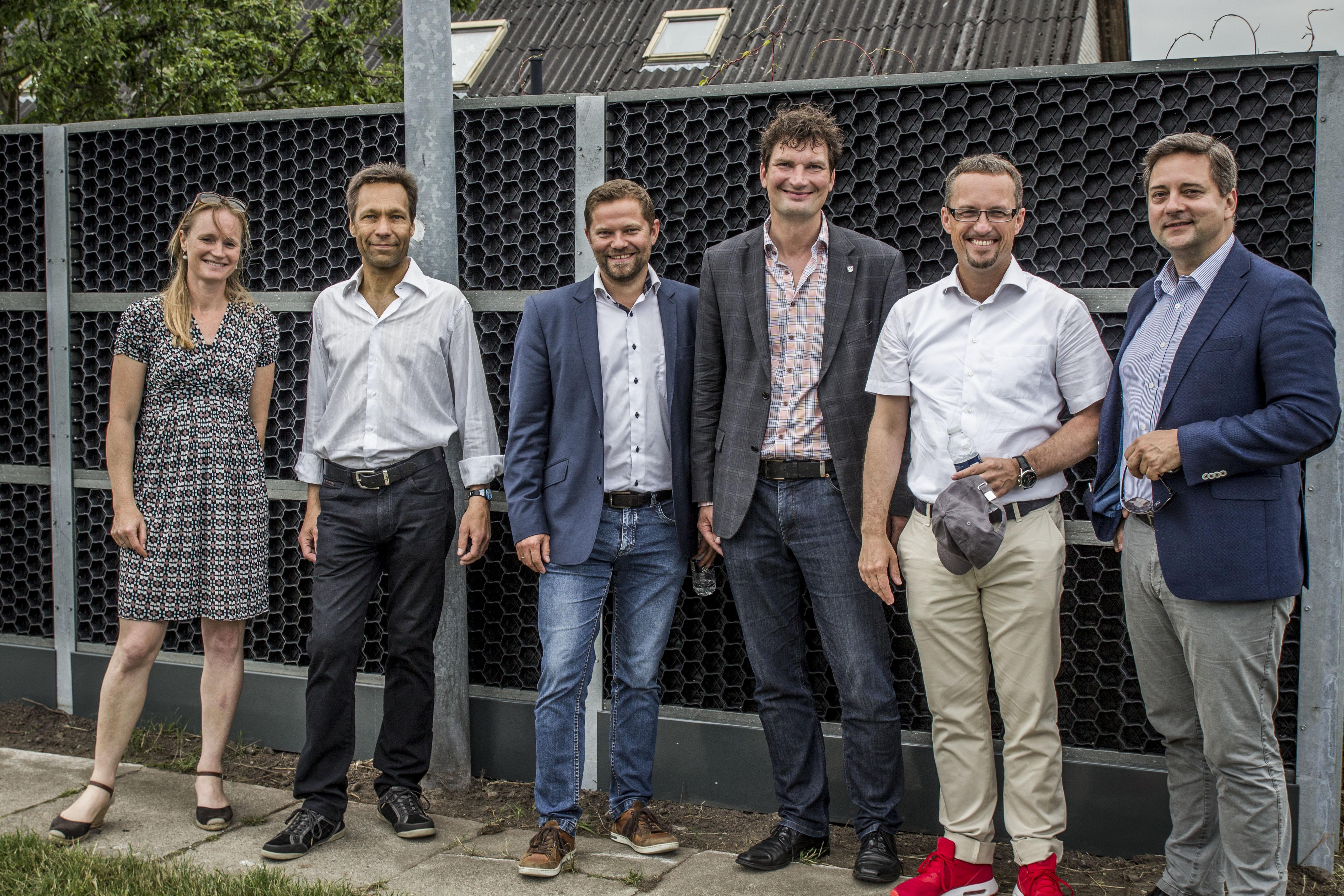 Partnerne bag etableringen af miljøskærm i Vallensbæk