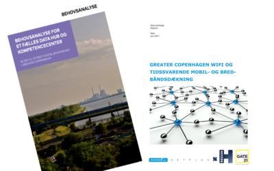 To nye rapporter: Smart City-udviklingen i Greater Copenhagen