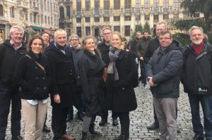 Sammen tager vi springet mod Bruxelles