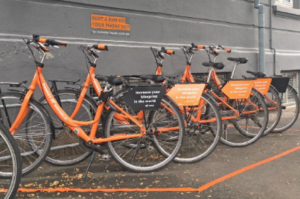 City bikes in the fight against