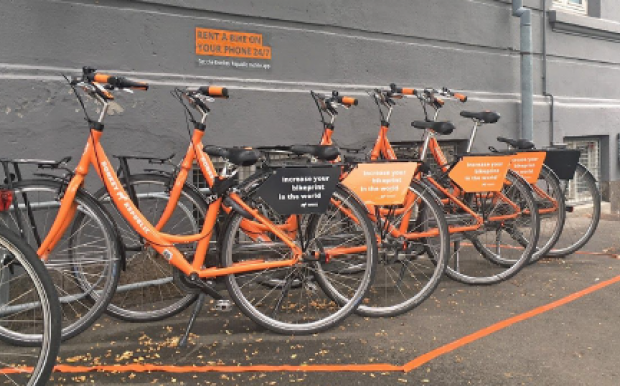 "City bikes in the fight against ""the last mile"""