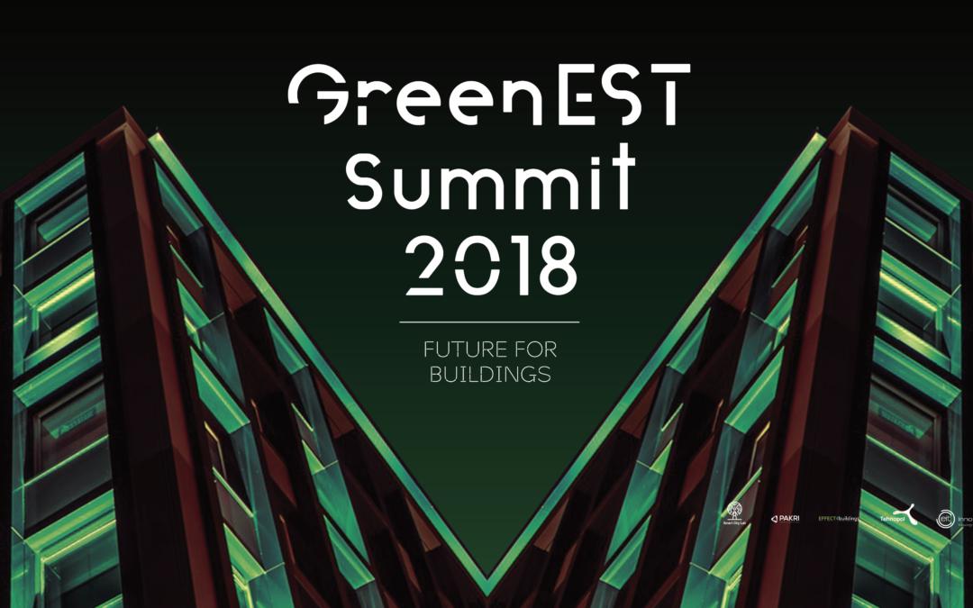 Effect4Buildings inviterer til GreenEST Summit i Tallinn