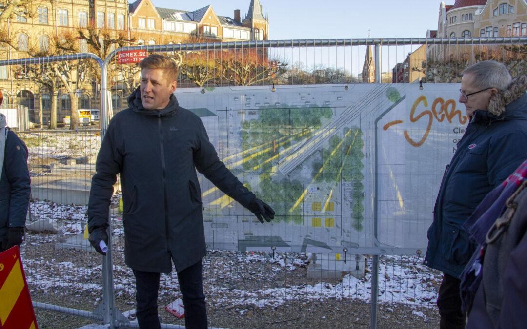 Ombygning af stationsområde sikrer en attraktiv bymidte for borgere og erhverv