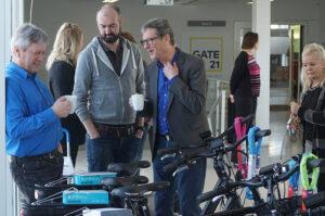 Arbejdspladser tilbyder ansatte en mere aktiv hverdag på elcykel