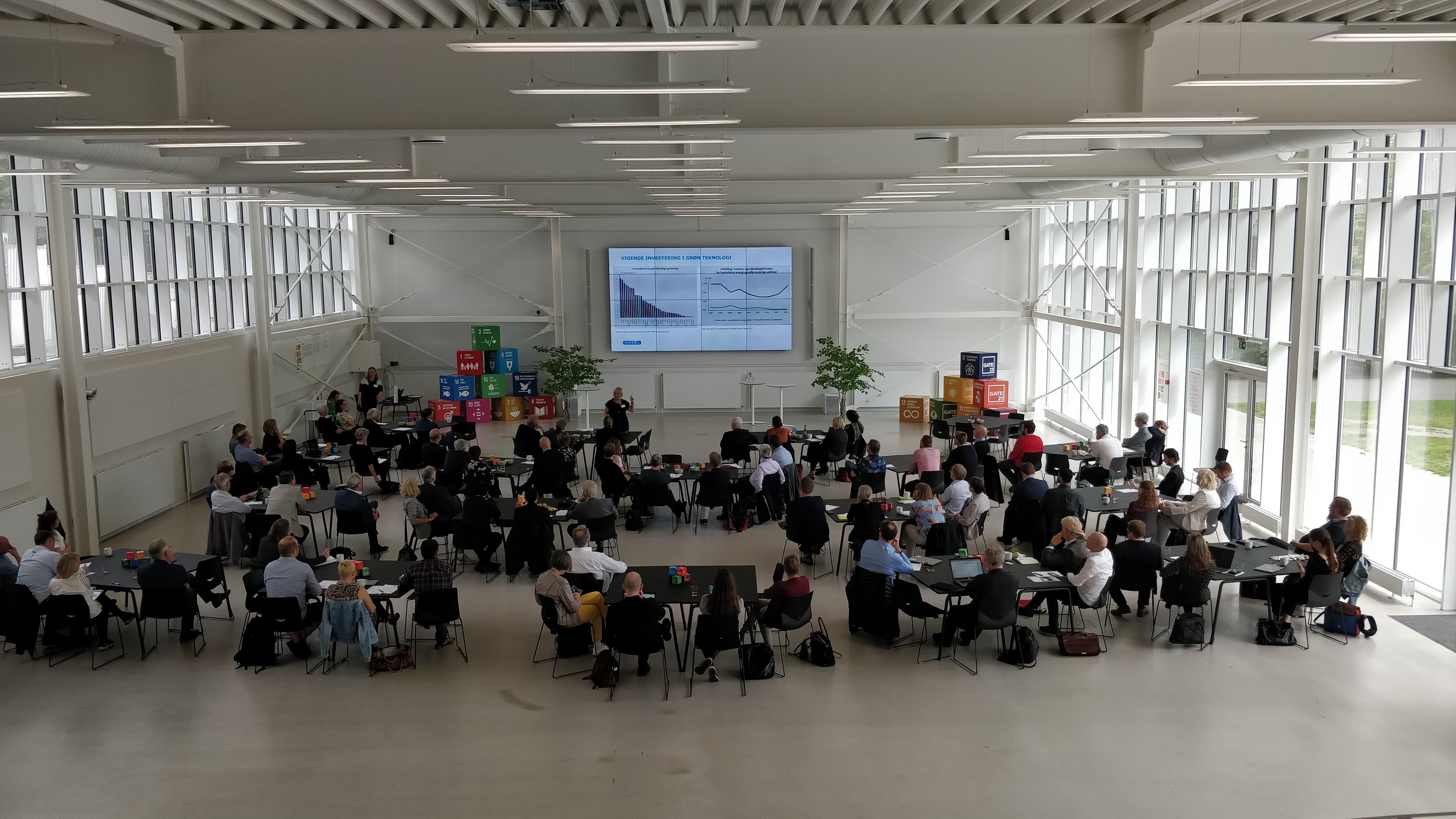 Gate 21's årsmøde: Kan digitalisering redde verdensmålene