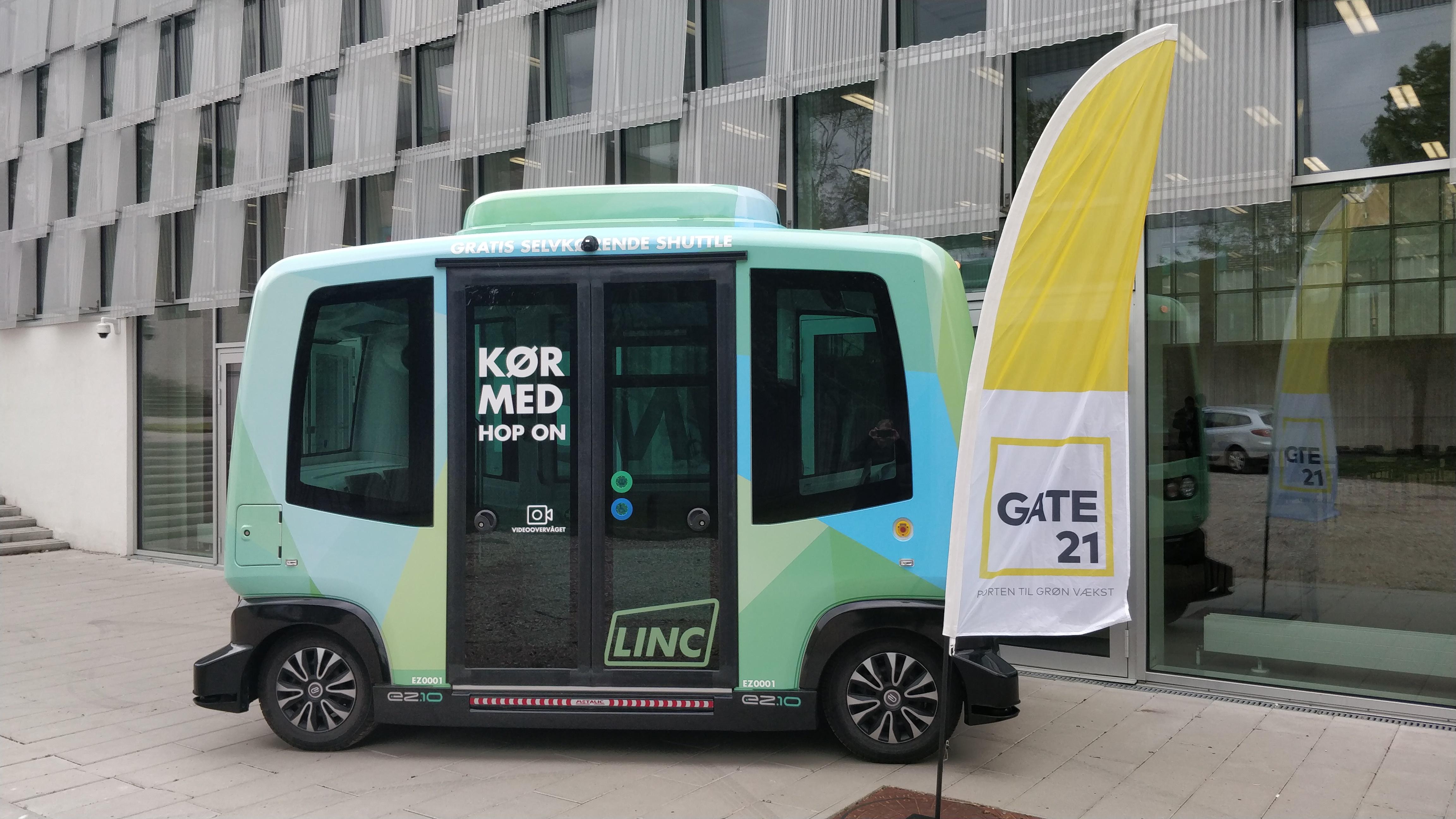 LINC - fremtidens førerløse busser