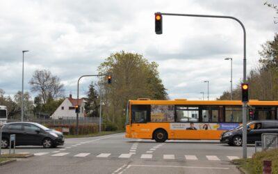 Danmarks første living lab for intelligente lyskryds