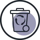 Sortering og genanvendelse af affaldet i lokale virksomheder