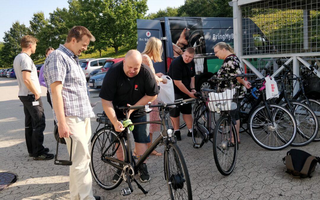 Virksomheder tester elcykler med stor succes trods pandemi